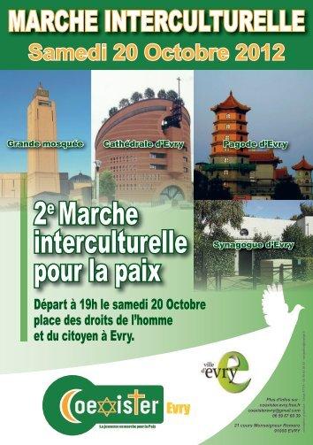 2e Marche interculturelle pour la paix