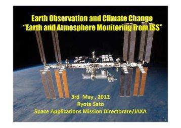 Earth observation and climate change - ESA Blog Navigator