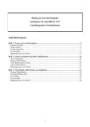 Transkription af høringen (.PDF 477 Kb) - Teknologirådet