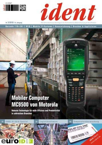 Mobiler Computer MC9500 von Motorola
