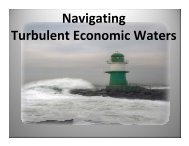 Navigating through Tough Economic Times