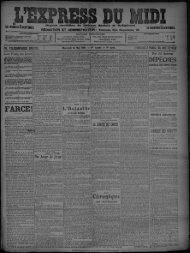 26 Mai 1909 - Bibliothèque de Toulouse