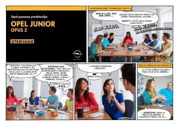 OPEL Junior Opus 2 (SERBIA) - Opel Media