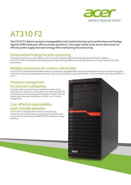 Acer Power F2 64 Bit