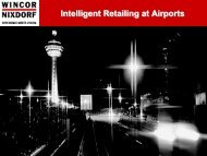 Intelligent Retailing at Airports