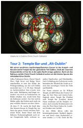 "Tour 2: Temple Bar und ""Alt-Dublin"""