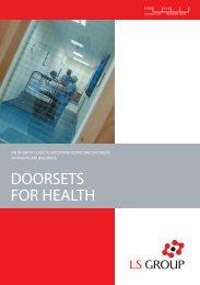Doorsets for health - CMS