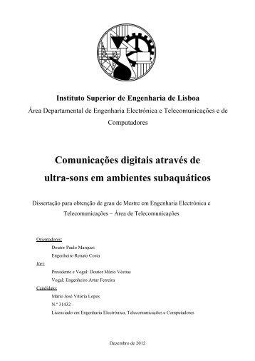 Relatório do segundo trabalho prático - Índice - Repositório ...