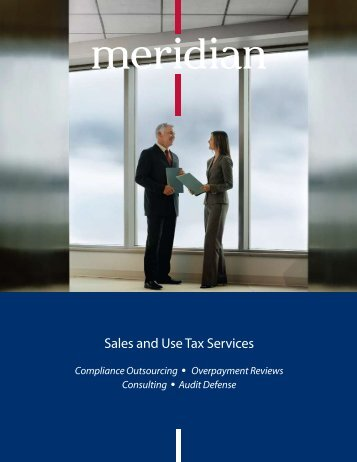 Sales and Use Tax Services - Meridian Global Services