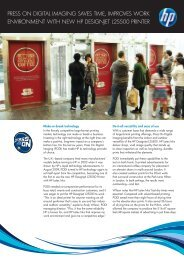 Press on Digital Imaging (458KB pdf) - HP