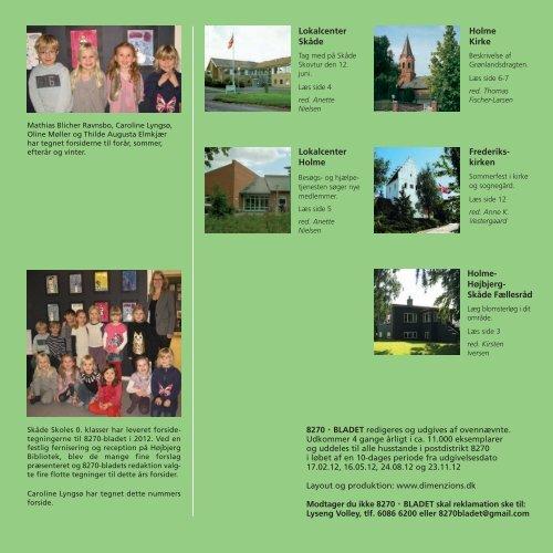 Lokalblad 8270 - Holme-Højbjerg-Skåde Fællesråd