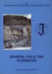 GENERAL FIELD TRIP GUIDEBOOK