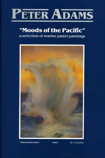Peter Adams-Moods of the Pacific 1993 - American Legacy Fine Arts