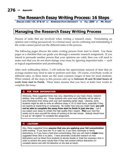 The Research Essay Writing Process  Steps  Ksuweb   The Research Essay Writing Process  Steps  Ksuweb  Purchase Persuasive Speech also Buy Essay Papers  Term Papers And Essays