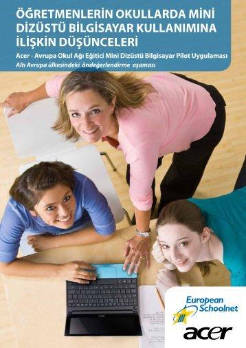 4. Bire bir (1:1) pedagojik senaryolar - Acer-EUN's Educational ...