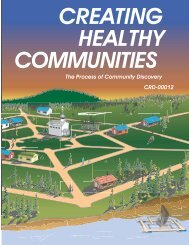 Creating a Healthy Community - University of Missouri Extension