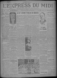 22 octobre 1929 - Bibliothèque de Toulouse