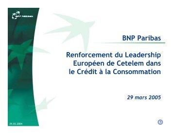 apport par le concert de ses titres Galeries Lafayette - BNP Paribas
