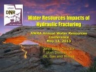 Hydraulic Fracturing - American Water Resources Association