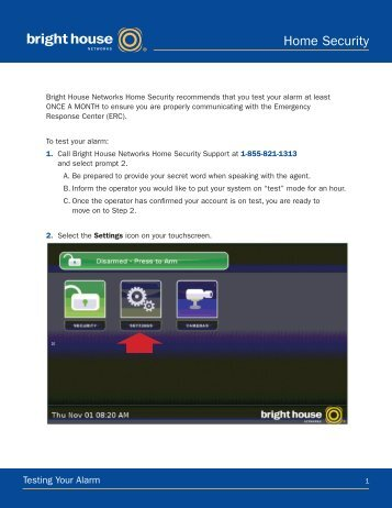 Home Security - Bright House Networks