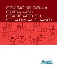 Scarica la guida delle norme EN - Ansell Healthcare Europe