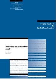 Tendencias y causas del conflicto armado - Berghof Handbook for ...