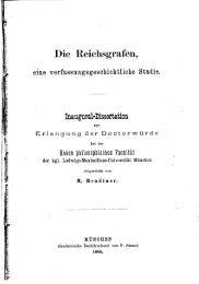 Die Reichsgrafen, eine verfassungsgeschichtliche Studie (PDF / 3,5 ...