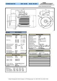 DM1 160 M2 B5 - Stoewer-Getriebe.de