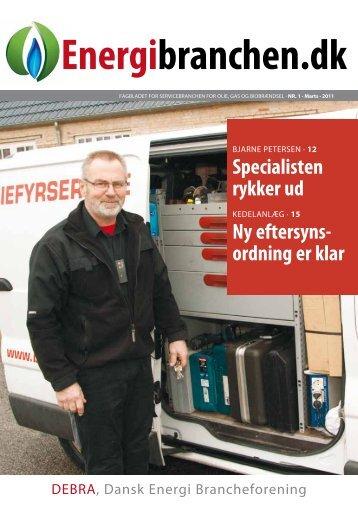 Energibranchen.dk nr. 1. 2011 - Dansk Energi Brancheforening