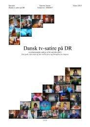 Dansk tv-satire på DR