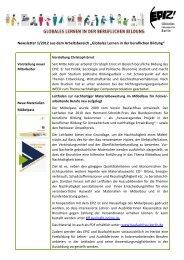 Newsletter 1/2012 - EPIZ Entwicklungspolitisches Bildungs