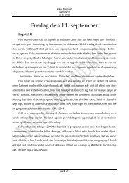 Kapitel 8, 9, 10 & 11 - Af Niklas Breindahl