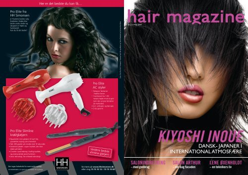 Besøg hjemmesiden - Hair Magazine
