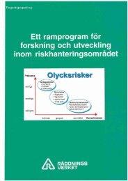 Ett ramprogram för forskning och utveckling inom ...