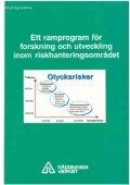Ett ramprogram för forskning och utveckling inom ... - Page 2