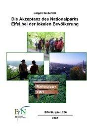 Diplomarbeit - Nationalpark Eifel