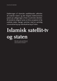 Islamisk satellit-tv og staten - Babylon