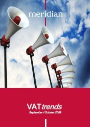 trends - Meridian Global Services