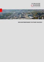 Investmentmarkt Stuttgart 2012/2013 Ellwanger&Geiger