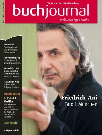 Friedrich Ani Tatort München - Boersenblatt.net