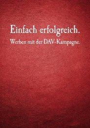Werben mit der DAV-Kampagne. - Deutscher Anwaltverein
