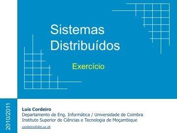Exercicio - Universidade de Coimbra