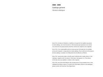 2008 - 2009 Catálogo general General catalogue - Habitissimo