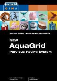 AquaGrip pervious paving system - CMS