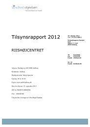 Riishøjscentret, plejeboliger - Aalborg Kommune