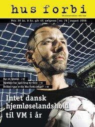 Intet dansk hjemløselandshold til VM i år - Hus Forbi