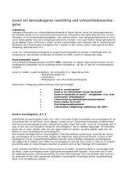 Loven om lønmodtageres reststilling ved virksomhedsoverdragelse
