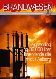 Højspænding og 38.000 liter brændende olie midt i Aalborg