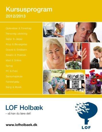 LOF Holbæk Kursusprogram
