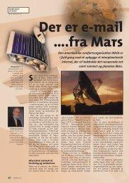 Der er e-mail ….fra Mars - Jakob Schultz